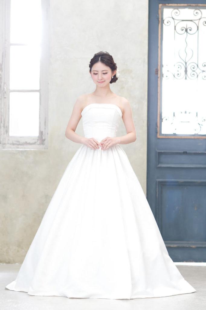 小さな結婚式のプラン内ドレス1